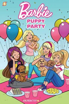 Papercutz is celebrating ten innovative audience-expanding years of publishing great graphic novels for all ages. Barbie Puppy, Barbie And Her Sisters, Barbie Drawing, Barbie Cartoon, Barbie Images, Barbie Paper Dolls, Barbie Birthday, Barbie Movies, Barbie Fashionista