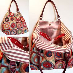 #kandinsky #fabrics #shoulderbag #handmade #bolsos #borse #taschen #sac #fashion #moda #modasostenible #coloursgallery #redish #fashionrevolution #slowfashion #sustainablefashion #colorful #lively #spring2018 #succedesoloabologna #bologna #barcelona #casualchic #uniquepieces