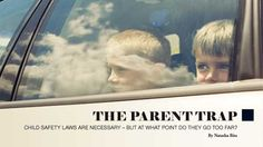 Leaving kids in the car while you do some shopping – did you know it's illegal?