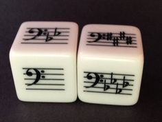 Advanced Key Signature Set--Bass Clef