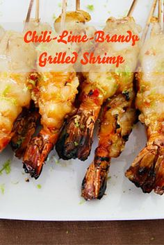 Tipsy shrimp, grilled, and doused with a sauce that is a cross between Thai sweet chili sauce and the most typical Thai spicy seafood sauce—all done in 30 minutes.