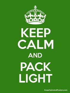 Pack Light! (Ultralight Backpacking!!!!!)