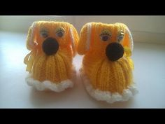 Вязаные сапожки и вязаные шапочки для детей. Knitted and crochet Baby Hats and Booties. - YouTube