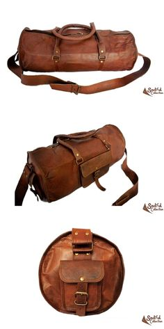 7467eccd0a8c Mens Leather Duffle Bag 24