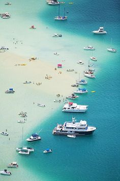 Bags are packed. Kaneohe Bay, Hawaii by Ron Dahlquist