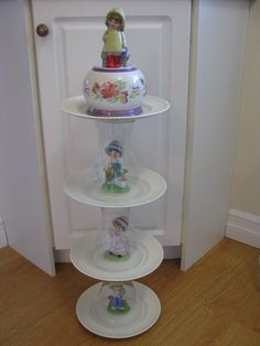 Pure Innocence Flower Tower, Tiered Cakes, Patio, Pure Products, Garden, Pretty, Flowers, Yard, Terrace