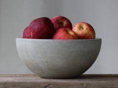 Concrete Fruit Bowl by rough fusion
