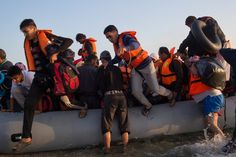 Lesbos Turns From Vacation Island to 'Main Point of Entry' for Migrants - The New York Times