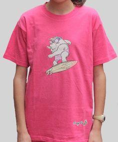 Champalao modelo infantil. Luna surf fucsia.