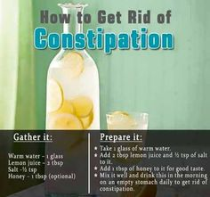 How to get rid of constipation #colon #cleanse