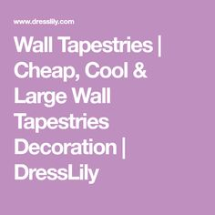 Wall Tapestries   Cheap, Cool & Large Wall Tapestries Decoration   DressLily
