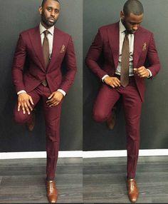 Formal Blazer Suit - Men Suits - Ideas of Men Suits The Suits, Mens Suits 2018, Suit And Tie, Men's Suits, Black Men In Suits, Mens Red Suit, Suits Women, Style Gentleman, Terno Slim