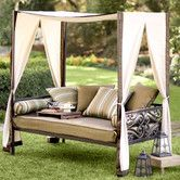 Found it at Wayfair - Outdoor Chaise Lounge with Cushion