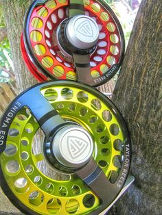 The new taylor reels enigma esd such a cool fly fishing for Enigma fishing rods