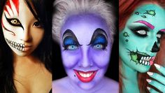 45 Crazy Halloween Makeup Ideas