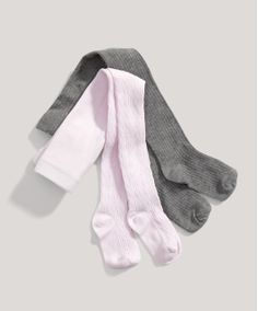 Girls 2 Pack of Knitted Tights - New In - Mamas & Papas
