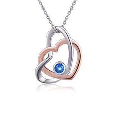 Perfect Valentines Gift for Her Sterling Silver Heart Charm Pendant Necklace New #valentinesgift