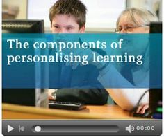 About the 4 Key Components of Personalised Learning