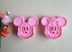Mickey mouse cookie cutters by merepour on Etsy, $7.00