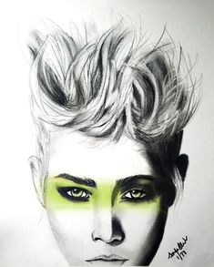 Drawing By Sandra Acosta Design Strong