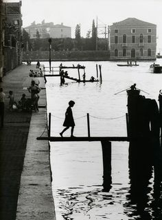 Venice, 1959.  Willy Ronis, French photographer (1910-2009)