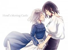 """""""Howl's Moving Castle~Sweet Couple"""". WHAT?  He is horrible!  Selfish beyond compare and treats everyone, including Sophie, like crap. The author even thinks he is a rotten character and advises readers to stop and recognize the dysfunctional dynamic!"""