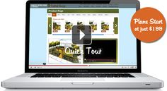 A really smart online design service. Like LegalZoom but for quick and affordable garden design and accessories!