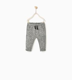Image 1 of PLUSH TROUSERS from Zara