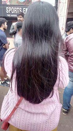Tamil Girls, Long Black Hair, Gorgeous Hair, Bun Hairstyles, Hair Beauty, Big Bun, Dreadlocks, Long Hair Styles, Thick Hair