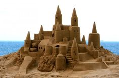 Sandlecastle competitions!