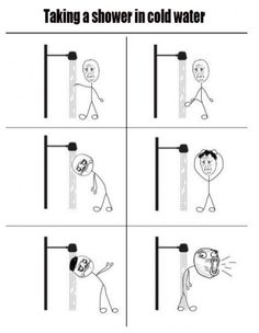 Cold Shower made me giggle