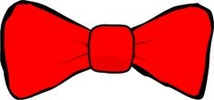 Bow Tie clip art_other colors