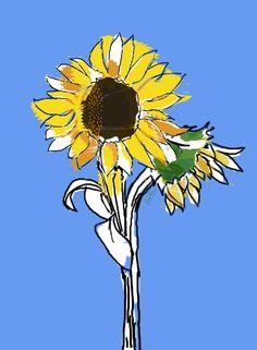sunflower illustration photoshop #fashion #fashionillustrator #fashionillustration #photoshop #draw #fashion #pmillustrator