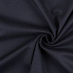 Brilliantly brushed on both faces, here is one riveting flannelled wool coating fabric in a charcoal navy coloration (which is as close to black as blue gets). Super smooth and extremely soft on both sides, this wiry wool fabric will richly attract onlookers regardless of which side becomes your future outerwear exterior. With a flexible, yet slightly stiffer drape, turn this brilliant wool into riveting trench coats, over-coats, capes and parka linings perfect for a plethora of Fall and…