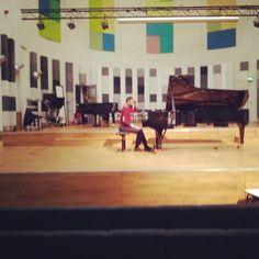 Recording my debut album in Utrecht, The Netherlands. Classical Pianist
