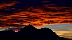 Amazing sunset over Hochstaufen and Zwiesel by echumachenco, via Flickr