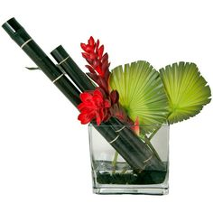 I pinned this Faux Ginger & Bamboo Arrangement from the Creative Branch event at Joss and Main!