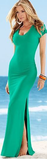 VENUS V-neck maxi dress Can't wait to wear this!