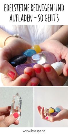 Cleaning and charging gems - the 10 best methods, Valentines Day For Him, Valentine Crafts For Kids, Reiki, Crayon Crafts, Online Yoga, Elements Of Art, My Mood, Healing Stones, Stones And Crystals
