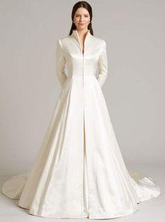 Wedding Bridal Coat for Winter Wedding Dresses 2014, Bridal Dresses, Wedding Gowns, Winter Wedding Coat, Winter Weddings, Pregnant Wedding Dress, Mode Outfits, Beautiful Gowns, Elegant Dresses