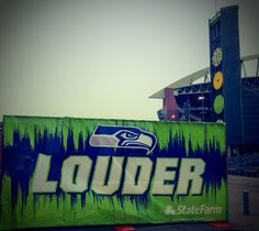 Taken at the Seahawks-49ers playoffs game at Century Link Field in Seattle, Washington - 1/19/14. GO SEAHAWKS!!!!!