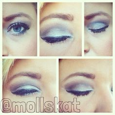 gray smokey eye makeup ideas