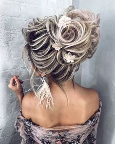 wedding hair dos hair and makeup cost hair vines hair vines hair curly updo hair stylist hair pins hair flowers Curly Wedding Hair, Elegant Wedding Hair, Wedding Hair And Makeup, Wedding Hair Accessories, Unique Wedding Hairstyles, Elegant Hairstyles, Up Hairstyles, Bridal Hairstyles, Medium Hair Styles