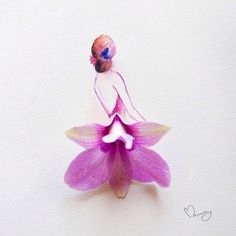 3d, amazing, art, back, backless, beautiful, couture, design, designer, drawing, dress, dresses, fashion, fashion illustration, flowers, gown, illustrations, inspiration, layers, lilac, love, mode, petals, pink, purple, sketch, style, watercolours