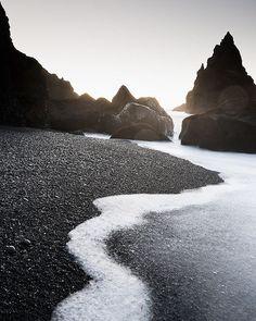 Reynisfjara Beach, Iceland | Svava Sparey Yoga Holidays #iceland #travel…