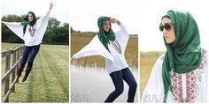 Fashion: 8 Gaya Hijab Modern Ala Si Cantik Yaz The Spaz | Vemale.com