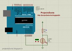 LDR interfacing with arduino