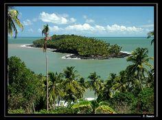 """Ilha Do Diabo - Guiana Francesa (Miguel isolado, confinado num lugar de difícil acesso, """"preso"""")"""