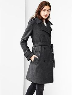 Wool trench | Gap