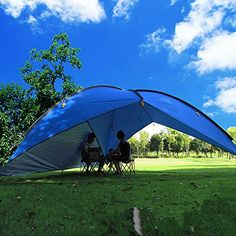 Oxking Outdoor 5-8 Person Beach Canopy Tent Large Triangu... https://www.amazon.com/dp/B00MJXDPDK/ref=cm_sw_r_pi_dp_x_yYCjybSFT7W0Q